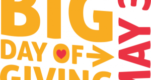 Big Day of Giving May 3rd, 2016
