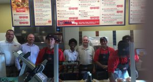 Jersey Mike's grand opening in Gilbert, Arizona