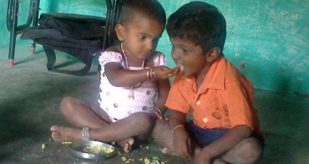 children-giving